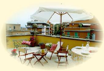 Le terrazze bed breakfast a roma for Terrazze arredate